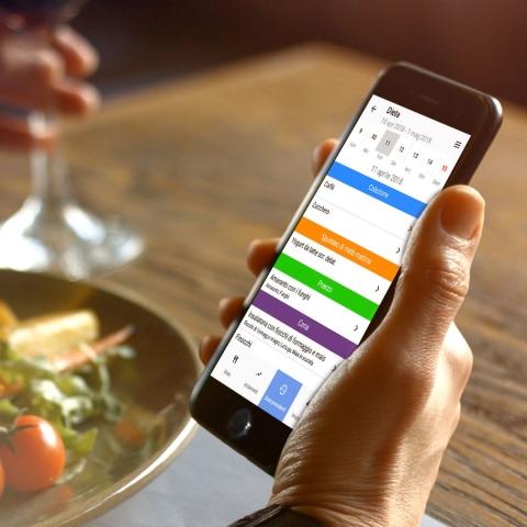 La dieta direttamente sul tuo smartphone in maniera semplice, veloce ed efficace