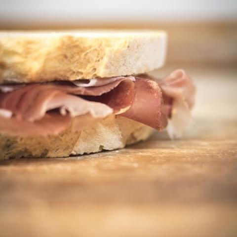 pane e prosciutto