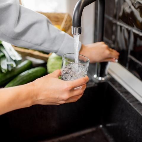 Bere acqua imbottigliata è più sicuro che bere acqua del rubinetto? (=FALSO)